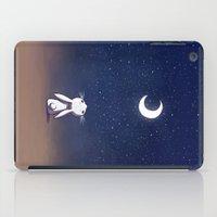 Moon Bunny iPad Case