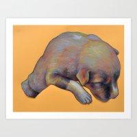 Pup Art Print