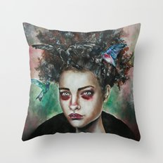 Bruelle  Throw Pillow