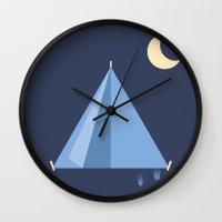 #83 Tent Wall Clock
