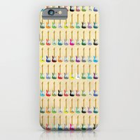 guitar iPhone & iPod Cases featuring Guitar by WyattDesign