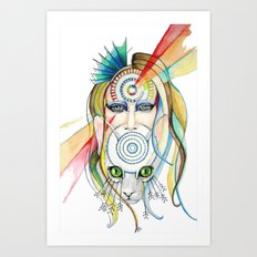 Vision and Silence Art Print