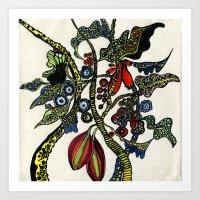 Jolie Ville Art Print