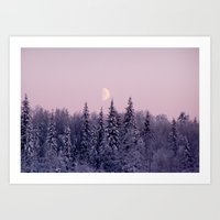 Noon At North Pole Art Print