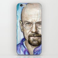 Walter White Portrait iPhone & iPod Skin