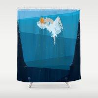 Sea Dance Shower Curtain