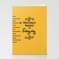 Practically Perfect In E… Stationery Cards