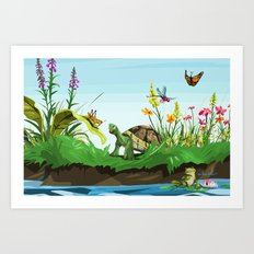 Wetlands 2 Art Print