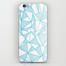 Abstraction Lines Watercolour iPhone & iPod Skin