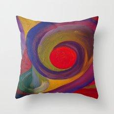 Swirlie Throw Pillow