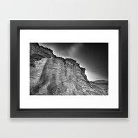 Volcanic World Framed Art Print