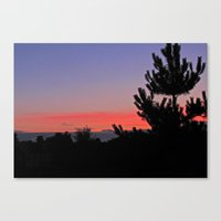 July Sunrise over London Canvas Print
