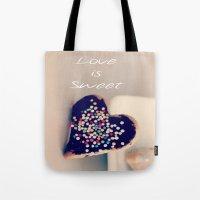 Love is Sweet  - JUSTART © Tote Bag