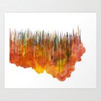 City #55: Vorotha Art Print