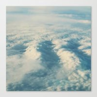 Cloud Sea Canvas Print
