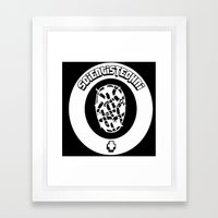 Logo Framed Art Print