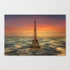 Sous Le Ciel De Paris Canvas Print