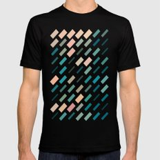 color story - patches SMALL Black Mens Fitted Tee