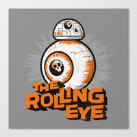 The Rolling Eye Canvas Print
