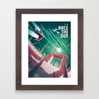 Race the Sun Framed Art Print