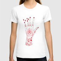 OOPS Womens Fitted Tee White SMALL
