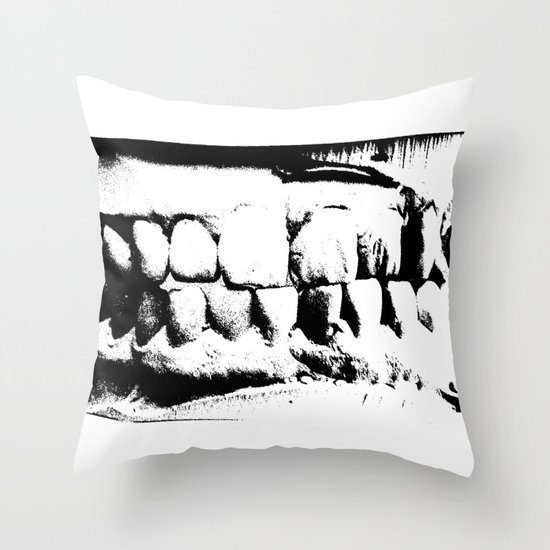 Wicked Smile Throw Pillow
