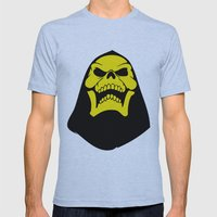 Skeletor. Mens Fitted Tee Athletic Blue SMALL