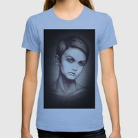 Twiggy Womens Fitted Tee Athletic Blue SMALL