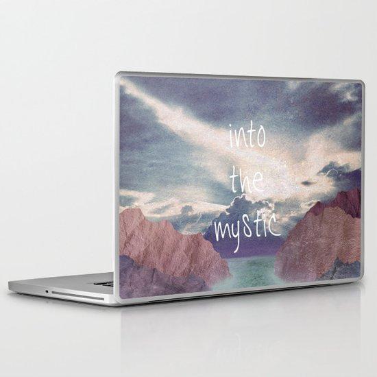 Into the Mystic (ANALOG zine) Laptop & iPad Skin