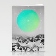 Stationery Cards featuring Middle Of Nowhere II by Soaring Anchor Desig…