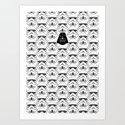 Stormtrooper pattern Art Print