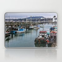The Busy Harbour Scarbor… Laptop & iPad Skin