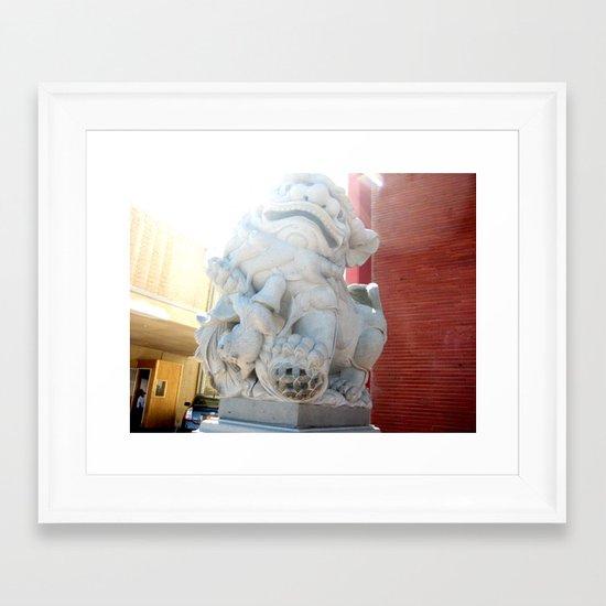 Friends of Stone Framed Art Print