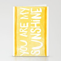 My Sunshine Love Stationery Cards