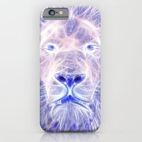 iPhone & iPod Case featuring Electric Lion by D77 The DigArtisT