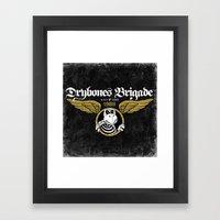 DryBones Brigade Framed Art Print