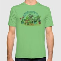 Household Plants Mens Fitted Tee Grass SMALL