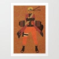 Sage Naruto Art Print