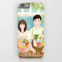 Wedding invitation design for Lisa and Alex iPhone 6 Slim Case