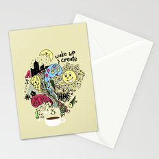 Wake Up & Create Stationery Cards