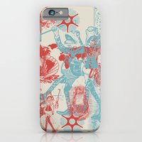 iPhone Cases featuring Time We Left This World Today by Heinz Aimer