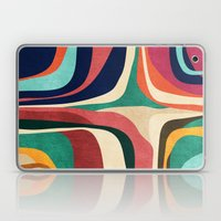 Impossible Contour Map Laptop & iPad Skin