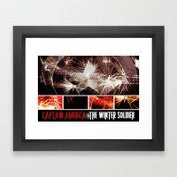Captain America: The Win… Framed Art Print