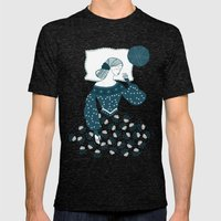 Little Briar Rose Mens Fitted Tee Tri-Black SMALL