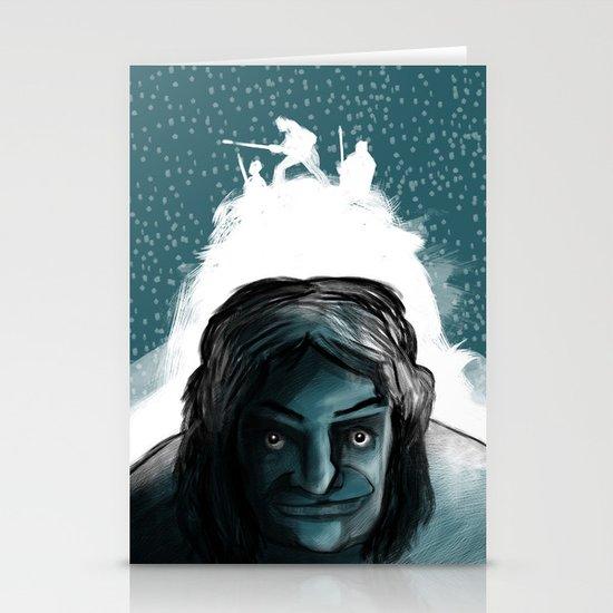 The Iceman Cometh Stationery Card