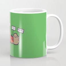 I hate vegans Mug