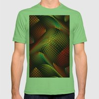 Bed Of Snakes Mens Fitted Tee Grass SMALL