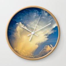 Cloud Explosion Wall Clock