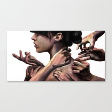 You know I'd rather work alone Canvas Print