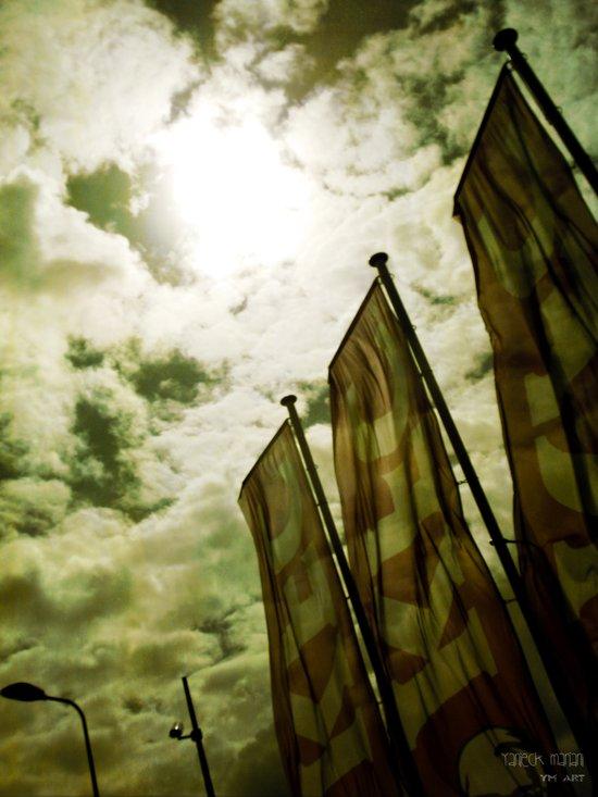 Feed me Clouds 2 Art Print